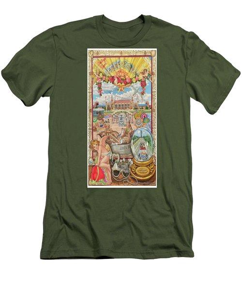 Jones Beach Love Story Towel Version Men's T-Shirt (Athletic Fit)