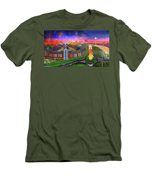 Jones Beach Theatre Men's T-Shirt (Athletic Fit)