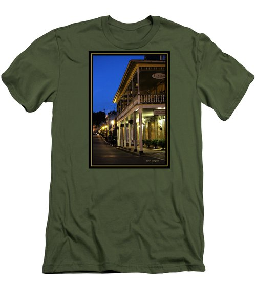 Jonesborough Tennessee 12 Men's T-Shirt (Slim Fit) by Steven Lebron Langston
