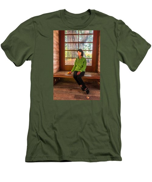 Josie Men's T-Shirt (Slim Fit) by Jerry Cahill
