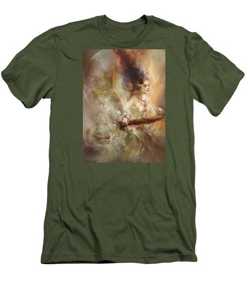 Joyment Men's T-Shirt (Slim Fit) by Te Hu