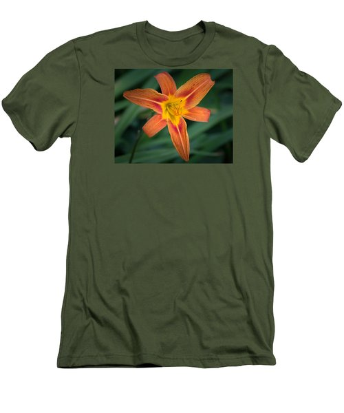 July Tiger Lily Men's T-Shirt (Slim Fit) by Kenneth Cole
