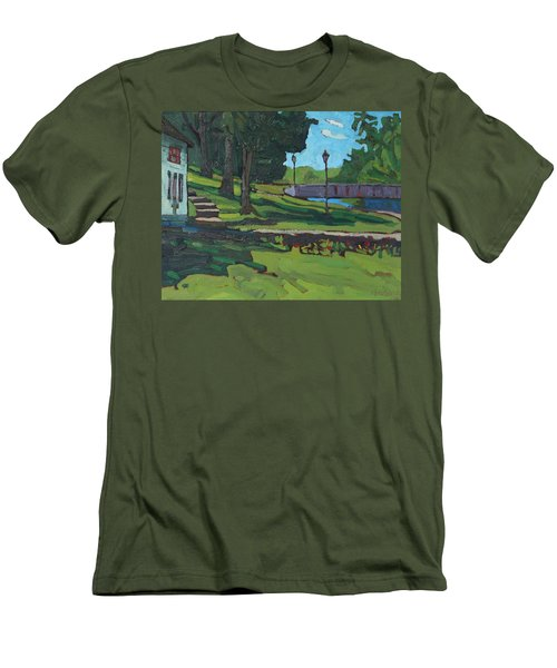 June Afternoon At Chaffeys Men's T-Shirt (Athletic Fit)