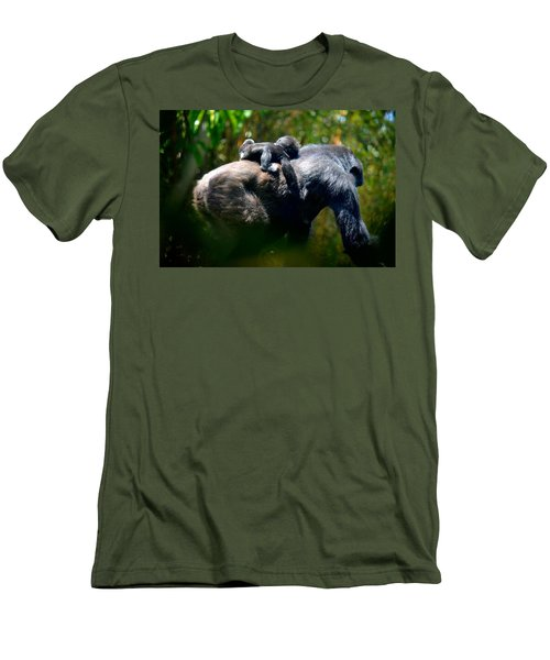 Jungle Baby Hitch Hiker Men's T-Shirt (Athletic Fit)