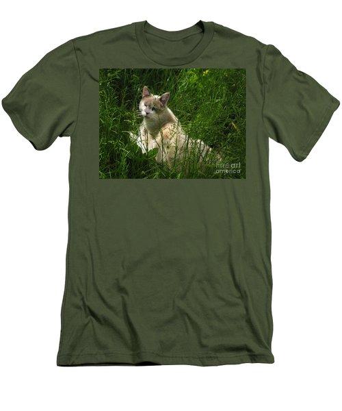 Jungle Cat Men's T-Shirt (Athletic Fit)