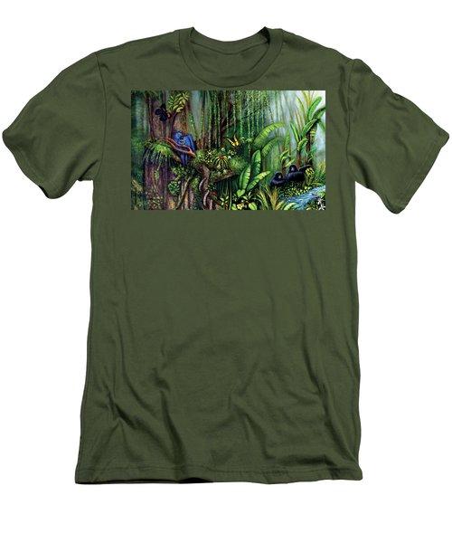 Jungle Talk Men's T-Shirt (Athletic Fit)