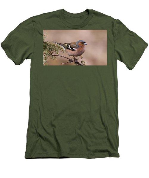 Juniper Bird Men's T-Shirt (Athletic Fit)