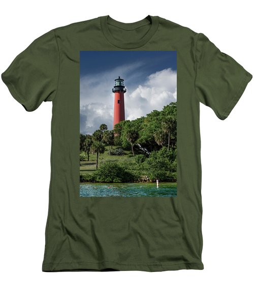 Jupiter Inlet Lighthouse Men's T-Shirt (Athletic Fit)