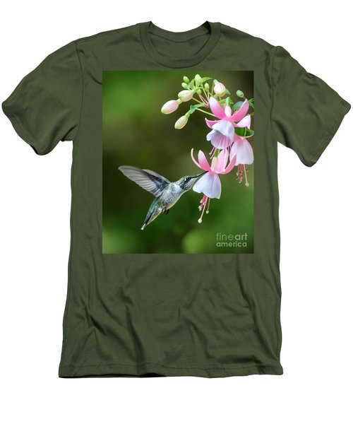 Just A Sip Men's T-Shirt (Slim Fit) by Amy Porter