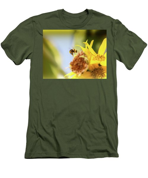 Men's T-Shirt (Slim Fit) featuring the photograph Just Beeing Me by Annette Hugen