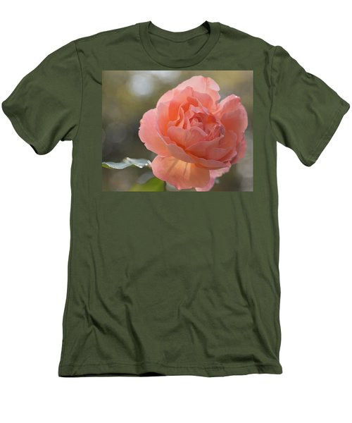 Men's T-Shirt (Athletic Fit) featuring the photograph Just Peachy by Julie Andel