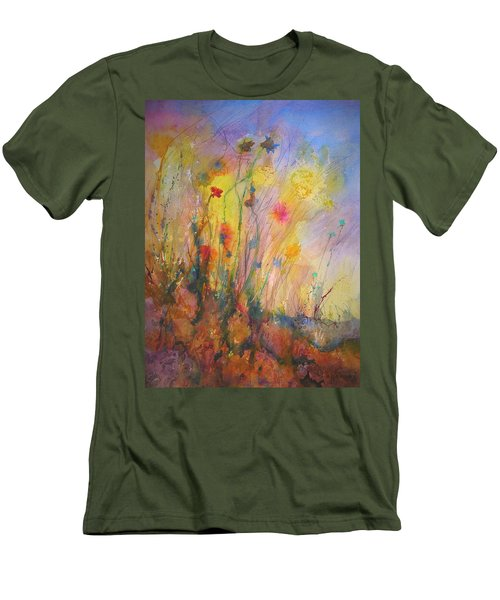 Just Weeds Men's T-Shirt (Slim Fit) by Mary Schiros