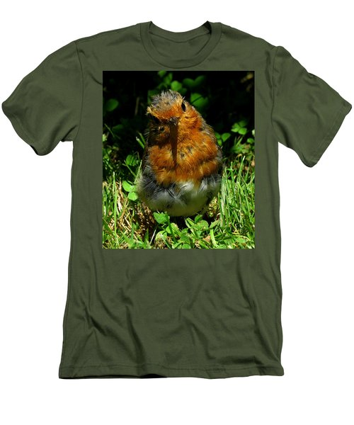 Juvenile Robin 2 Men's T-Shirt (Athletic Fit)