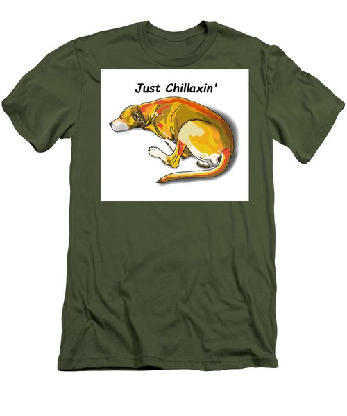 Kai Chillaxin' Men's T-Shirt (Athletic Fit)