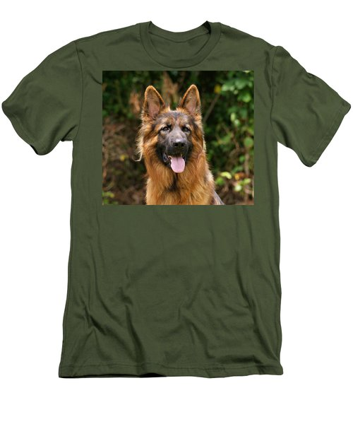 Kaiser - German Shepherd Men's T-Shirt (Athletic Fit)