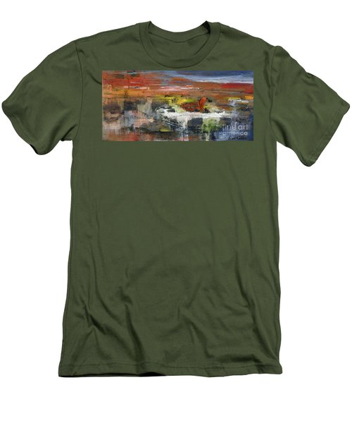 Kaiser Pond Men's T-Shirt (Athletic Fit)
