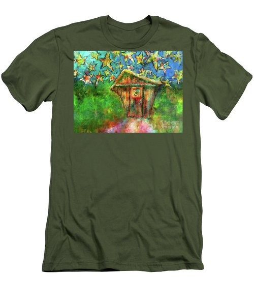 Kaleidoscope Skies Men's T-Shirt (Athletic Fit)