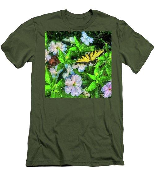 Karen's Garden Men's T-Shirt (Slim Fit) by Toma Caul
