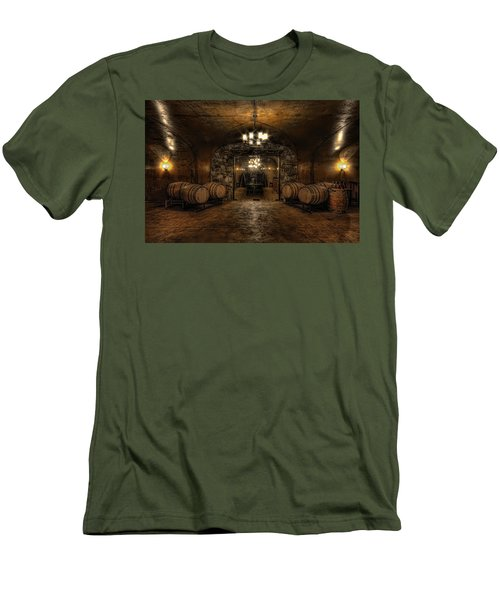 Karma Winery Cave Men's T-Shirt (Athletic Fit)