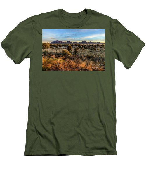 Men's T-Shirt (Athletic Fit) featuring the photograph Kata Tjuta 02 by Werner Padarin