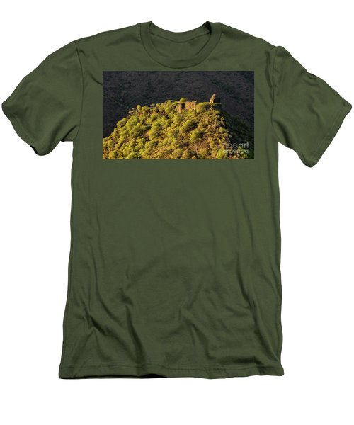 Kayan Fortress At Late Evening, Armenia Men's T-Shirt (Athletic Fit)