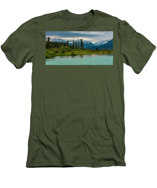 Men's T-Shirt (Athletic Fit) featuring the photograph Kenai by Gary Lengyel