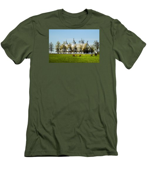 Revised Kentucky Horse Barn Hotel 2 Men's T-Shirt (Athletic Fit)