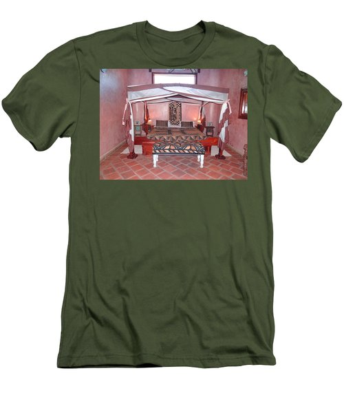Kenyan African Traditional Double Bed Men's T-Shirt (Athletic Fit)