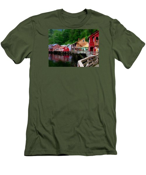 Ketchikan Alaska Men's T-Shirt (Athletic Fit)