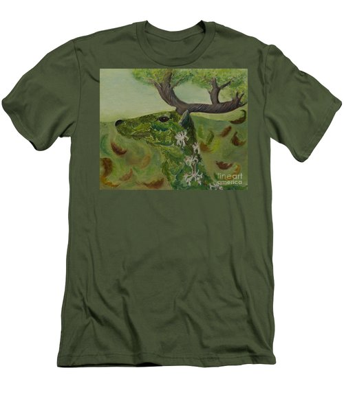 King Of The Forest Men's T-Shirt (Athletic Fit)