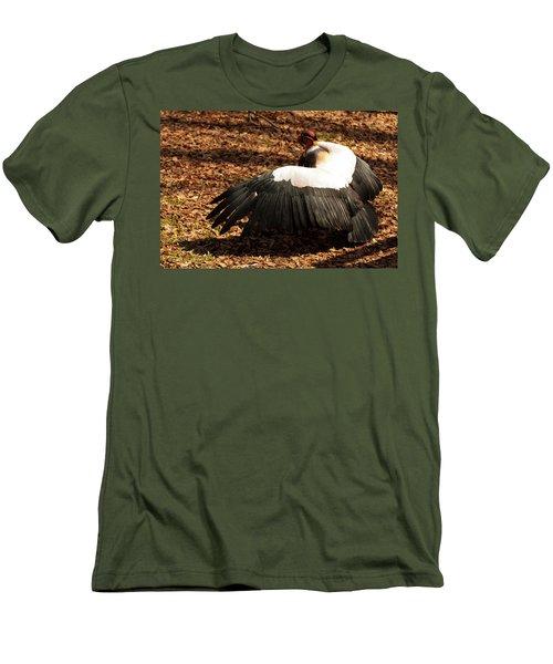 King Vulture 2 Strutting Men's T-Shirt (Slim Fit) by Chris Flees