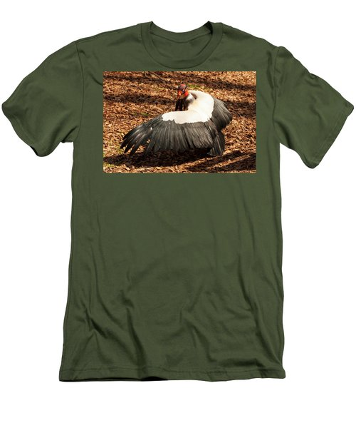 King Vulture 4 Strutting Men's T-Shirt (Slim Fit) by Chris Flees