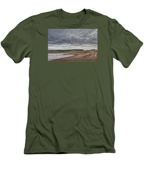 Kingdom Of Fife Men's T-Shirt (Slim Fit) by Jeremy Lavender Photography