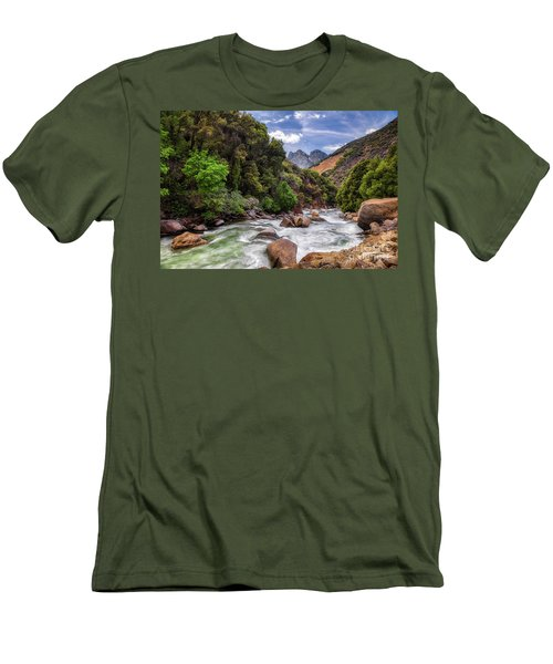 Kings River Men's T-Shirt (Athletic Fit)