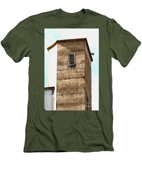 Men's T-Shirt (Athletic Fit) featuring the photograph Kingscote Dungeon by Stephen Mitchell