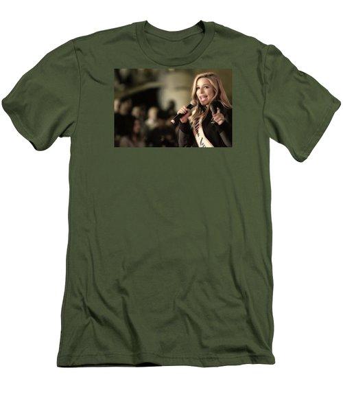 Kira Kazantsev Men's T-Shirt (Slim Fit) by John Swartz