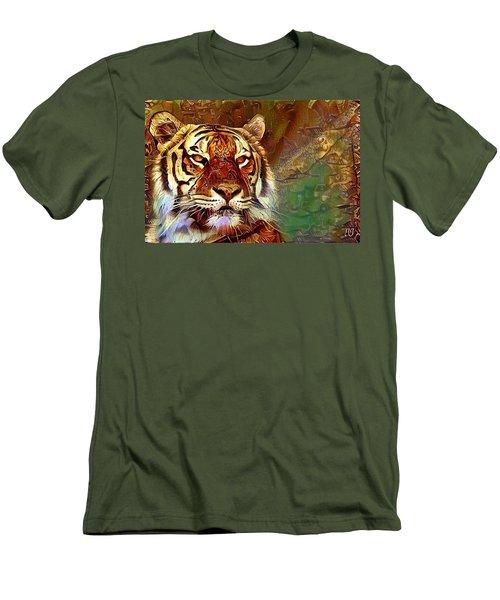 Kisa  Men's T-Shirt (Slim Fit) by Geri Glavis