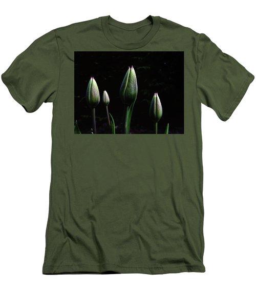 Kiss Kiss Men's T-Shirt (Slim Fit) by Karen Stahlros