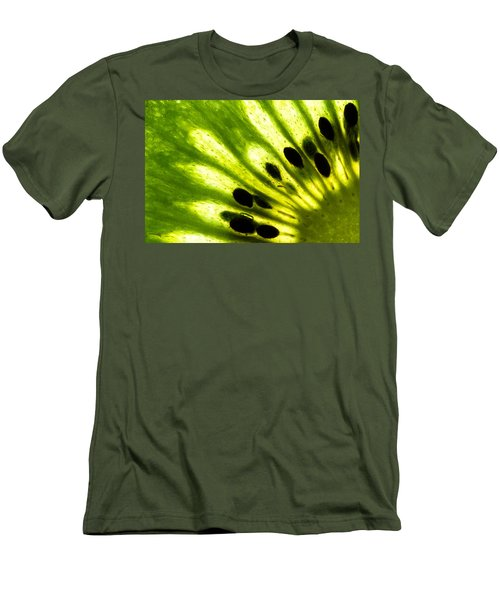 Kiwi Men's T-Shirt (Slim Fit) by Gert Lavsen