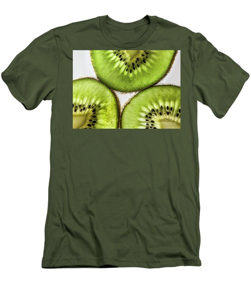 Kiwi Men's T-Shirt (Slim Fit) by Shirley Mangini