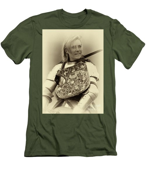 Men's T-Shirt (Slim Fit) featuring the photograph Knights Of Old 17 by Bob Christopher