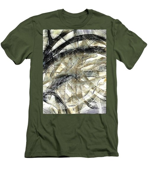 Men's T-Shirt (Slim Fit) featuring the painting Knotty by Vicki Ferrari