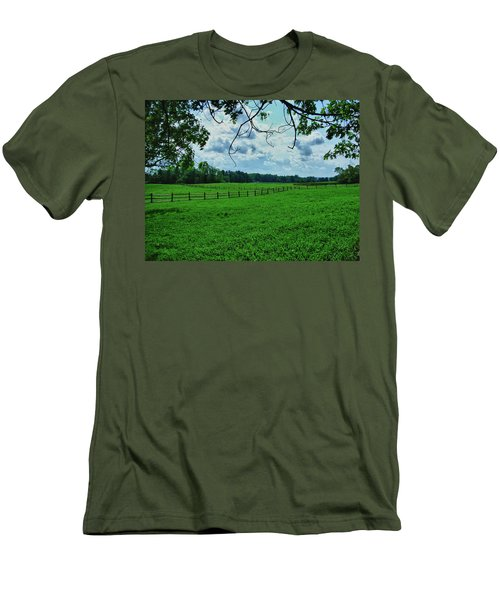 Knox Farm 1786 Men's T-Shirt (Slim Fit) by Guy Whiteley