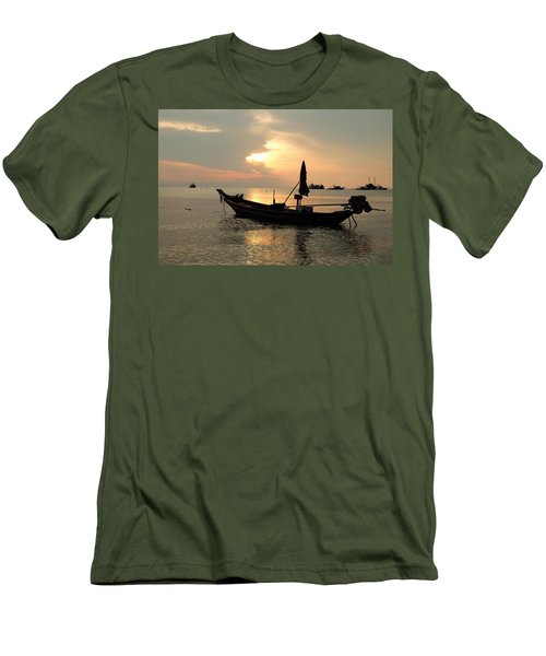 Ko Tao In Evening Men's T-Shirt (Athletic Fit)