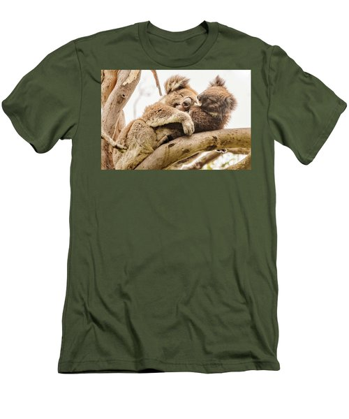 Koala 5 Men's T-Shirt (Slim Fit) by Werner Padarin