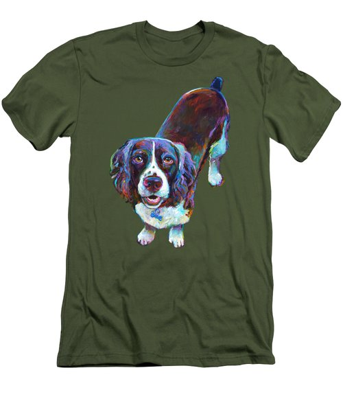 Koda The Spaniel Men's T-Shirt (Athletic Fit)