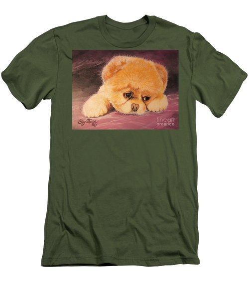 Flying Lamb Productions     Koty The Puppy Men's T-Shirt (Athletic Fit)