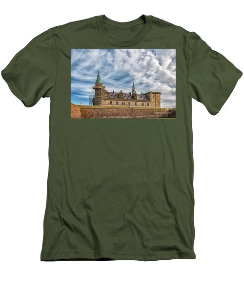 Men's T-Shirt (Slim Fit) featuring the photograph Kronborg Castle In Denmark by Antony McAulay