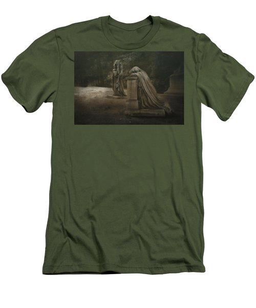 Men's T-Shirt (Slim Fit) featuring the photograph Ladies Of Eternal Sorrow by Tom Mc Nemar