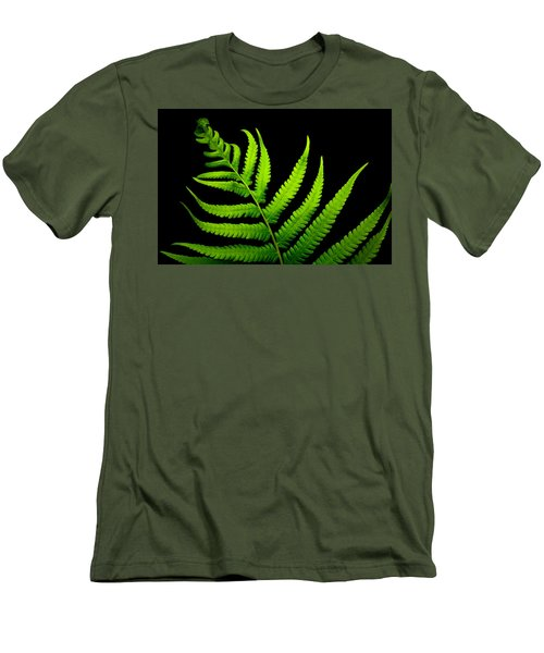 Lady Green Men's T-Shirt (Athletic Fit)